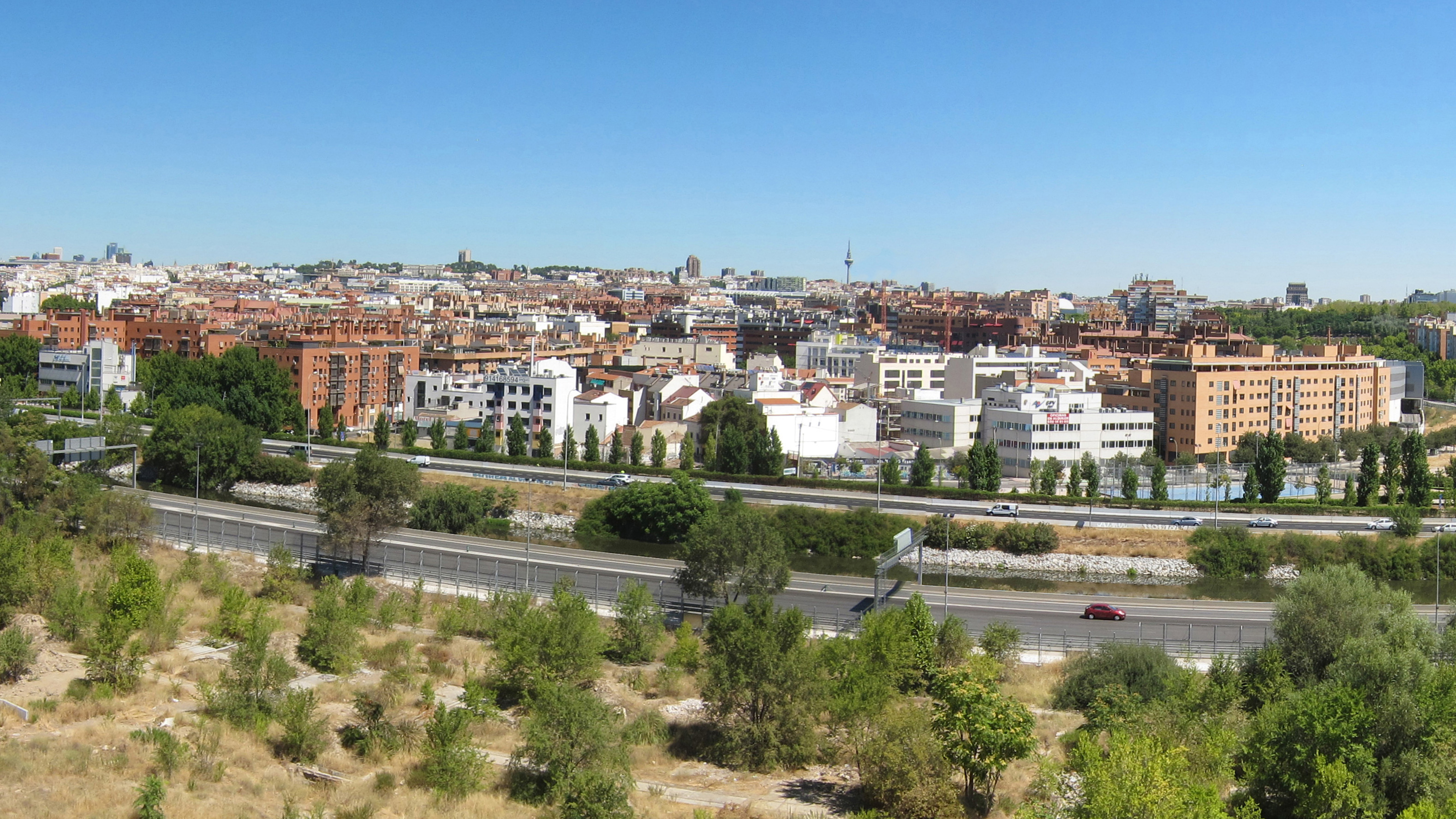 Residencial Puente de la Princesa vistas